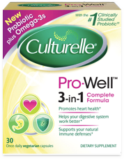 Culturelle ® Pro-Well ™ 3-in-1